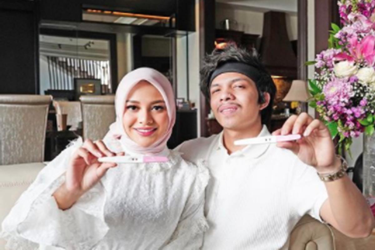 Aurel Hermansyah dan Atta Halilintar (foto: SC IG @aurelie.hermansyah)