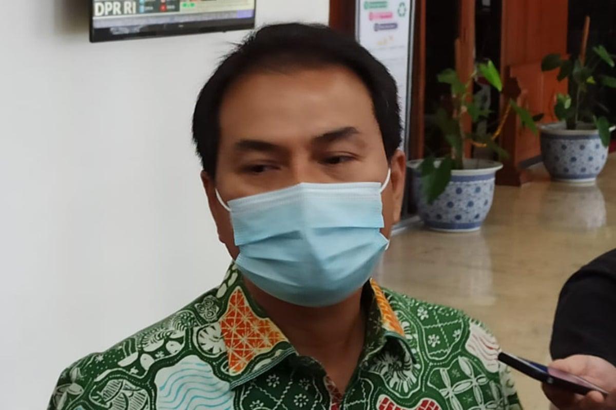 Wakil Ketua DPR-RI Azis Syamsuddin (foto: Mia/GenPI.co)