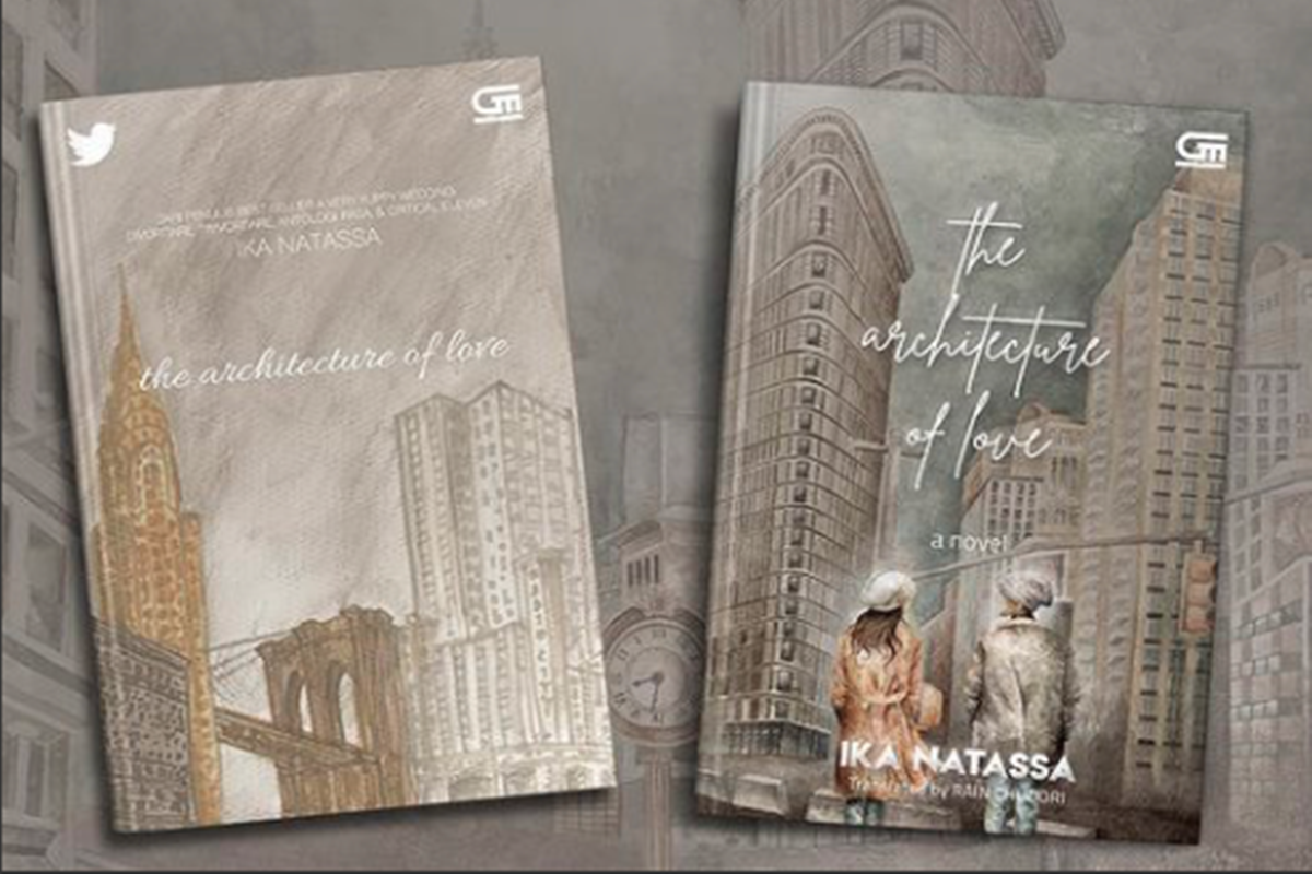 The Architecture of Love sajikan kisah cinta di New York (foto: SC IG @ikanatassa)