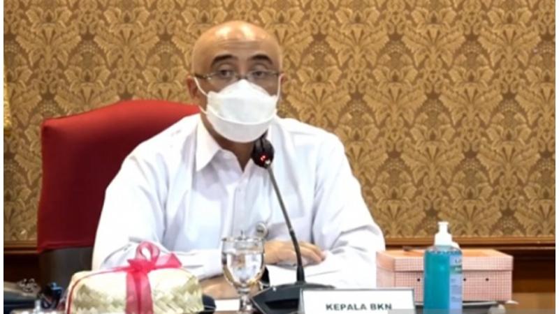 Kepala Badan Kepegawaian Negara (BKN) Bima Haria Wibisana.(foto: Antara)