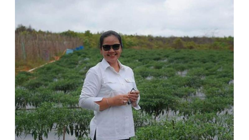Wakil Ketua Komisi X DPR-RI Agustina Wilujeng Pramestuti (foto: SC IG @awpramestuti )