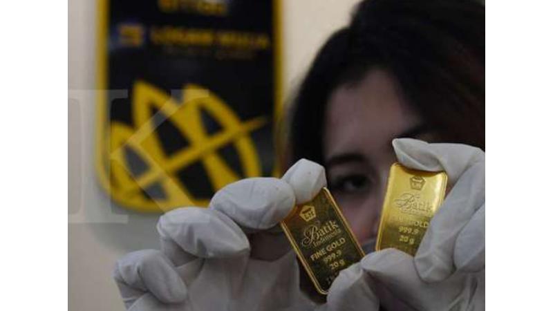 Emas Antam (foto: Antara)
