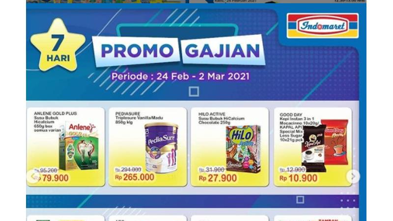 Jelang Akhir Bulan, Indomaret Beri Promo Gajian, Nih Rinciannya!