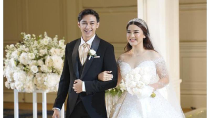 Felicya Angelista dan Caesar Hito menikah pada Sabtu, 9 Januari 2021 (foto: SC IG @felicyangelista_)