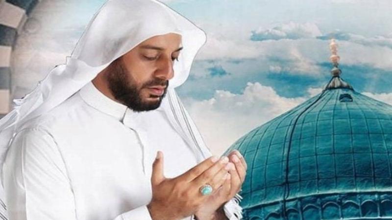 Syekh Ali Jaber meninggal dunia pada Kamis (14/1/2021) di usia 44 tahun (sumber foto: SC Twitter @eVi_GeRVie)