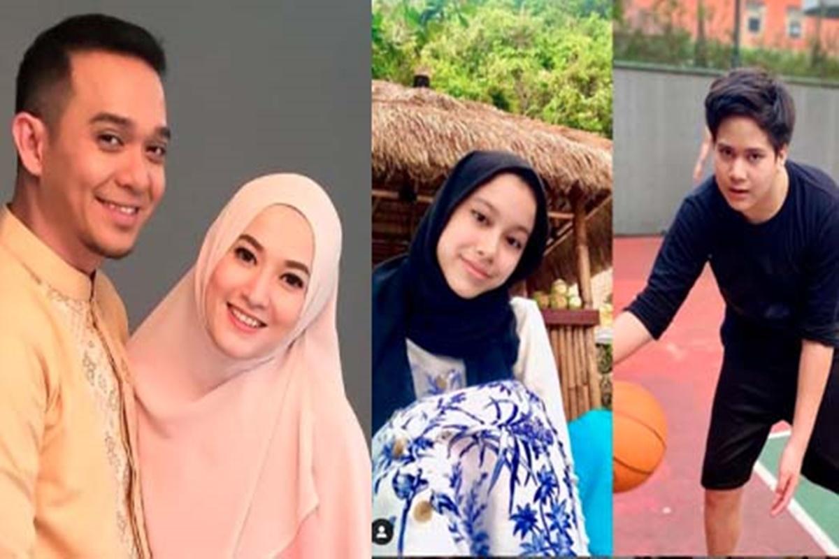 Fadlan Muhammad, Lyra Virna, Queency Alycia, dan Mikail (foto: SC IG fadlanmuhammad)