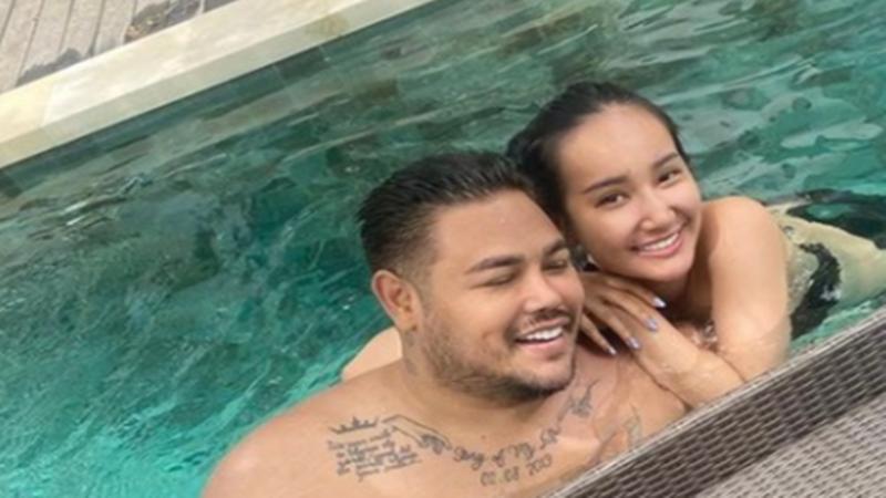 Ivan Gunawan dan Bella Aprilia (foto: SC IG @ivan_gunawan)