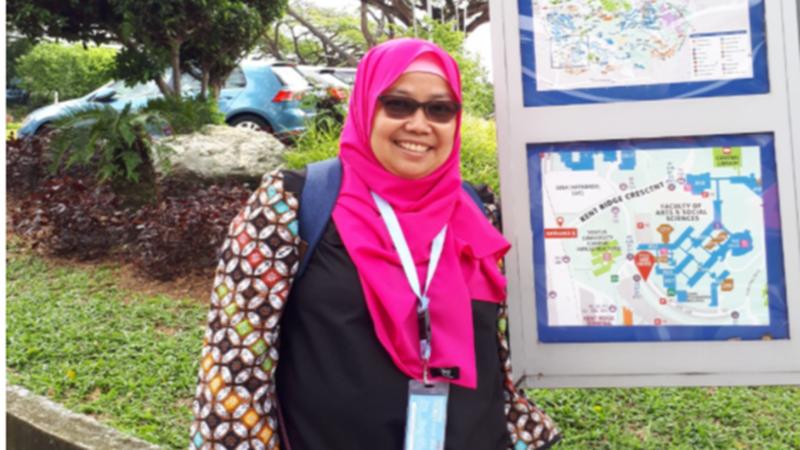 Akademisi dari Universitas Indonesia (UI), Lina M (foto: Dok. Lina M)
