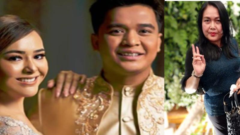 Mama Amanda akan merestui jika Billy Syahputra jodoh anaknya, Amanda Manopo (foto: SC IG @anneavantieheart dan @hennymanopolugue)