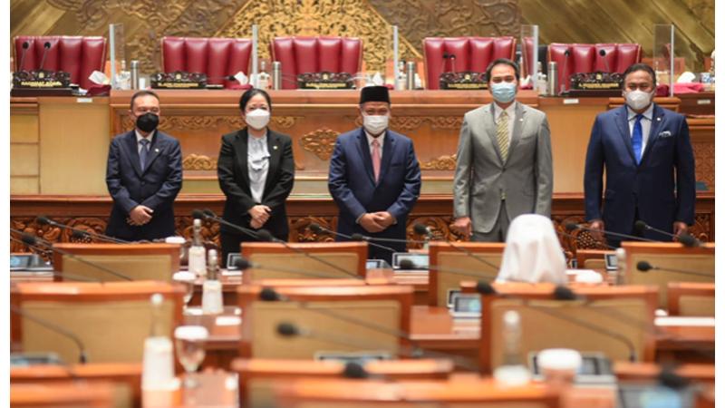 DPR ketok palu penggabungan Kemenristek dengan Kemendikbud (foto: Dok. DPR)