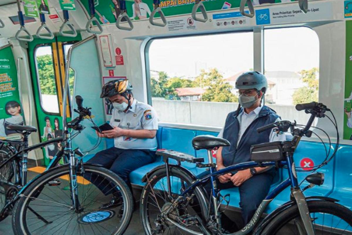 MRT mendapat rekor MURI (foto: SC IG @mrtjkt)