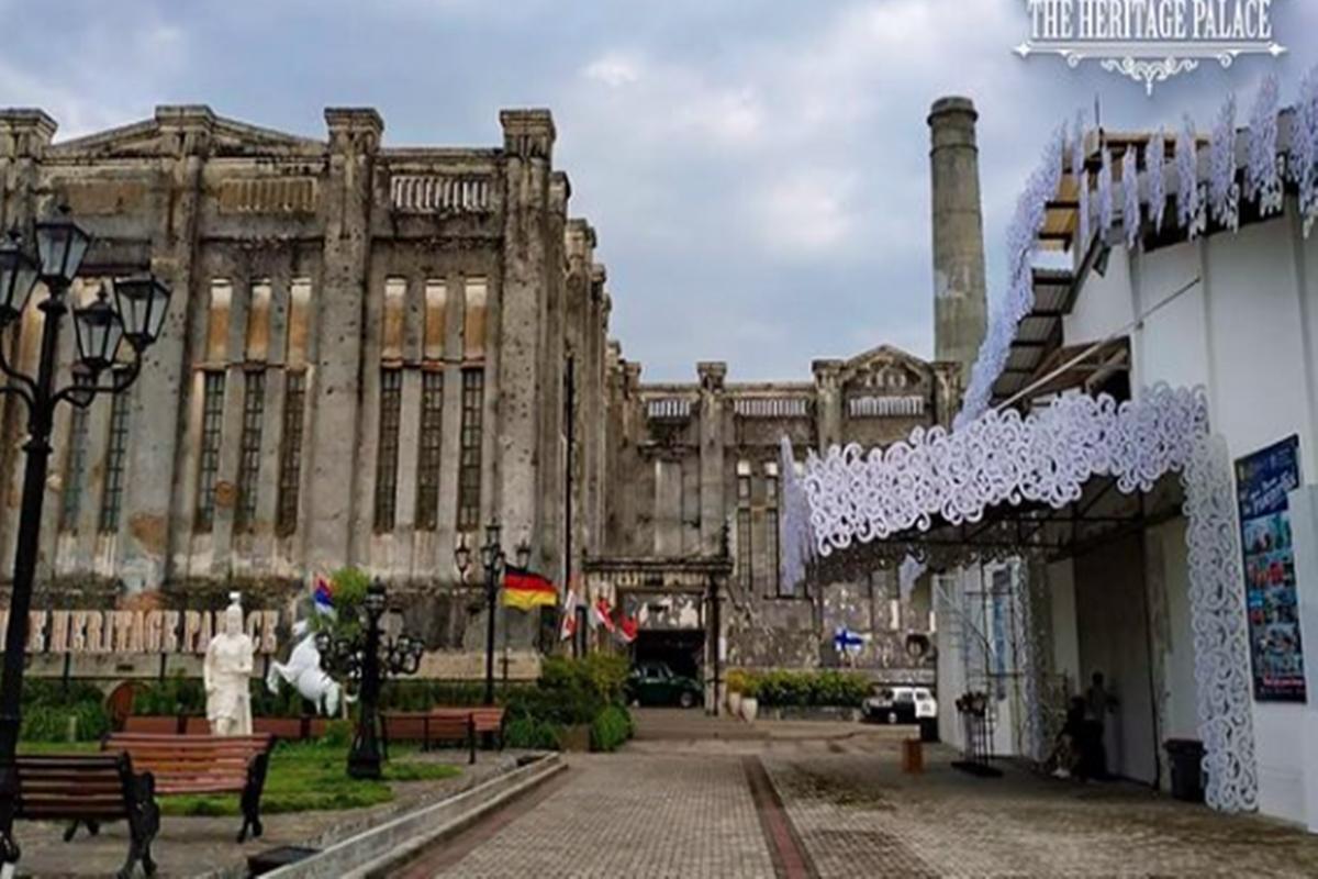 Aduhai! Dulunya Pabrik Gula Sekarang Jadi Tempat Wisata Ala Eropa
