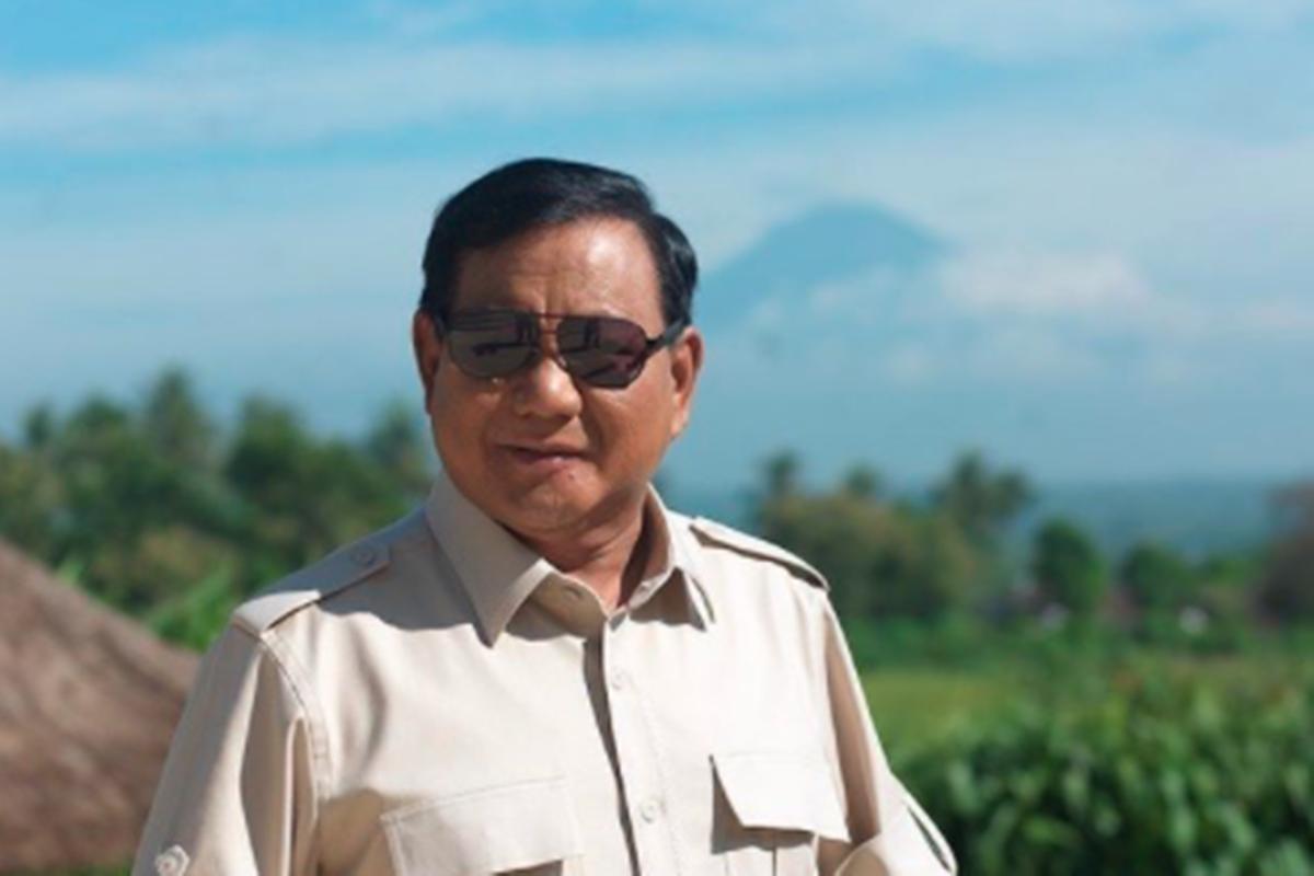 Prabowo Subianto (foto: SC IG @prabowo)