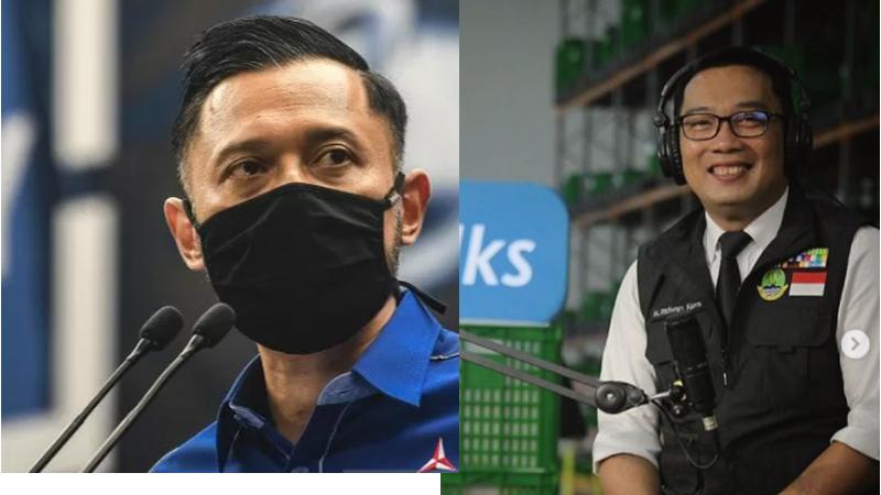 Bukan Moeldoko, Ternyata Ferdinand Jagokan Ridwan Kamil Ganti AHY