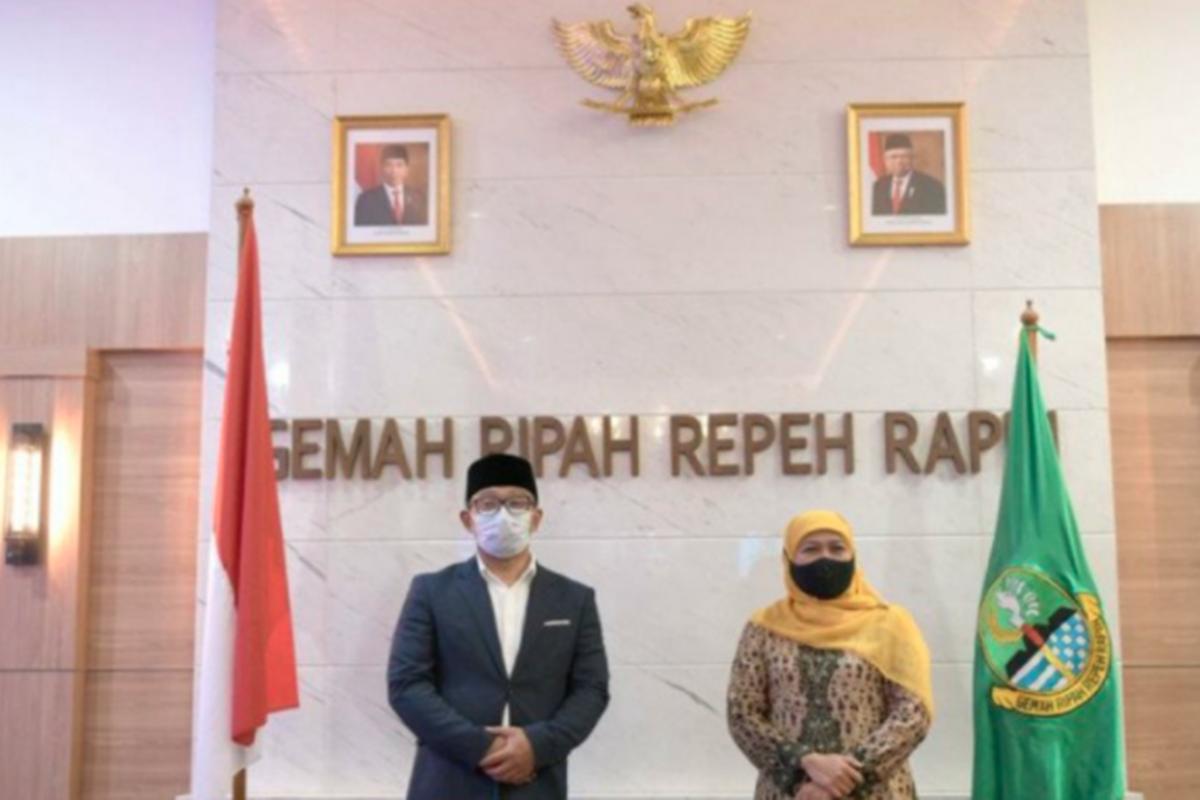 Bertemu, Ridwan Kamil dan Khofifah Bakal Duet di Pilpres 2024?