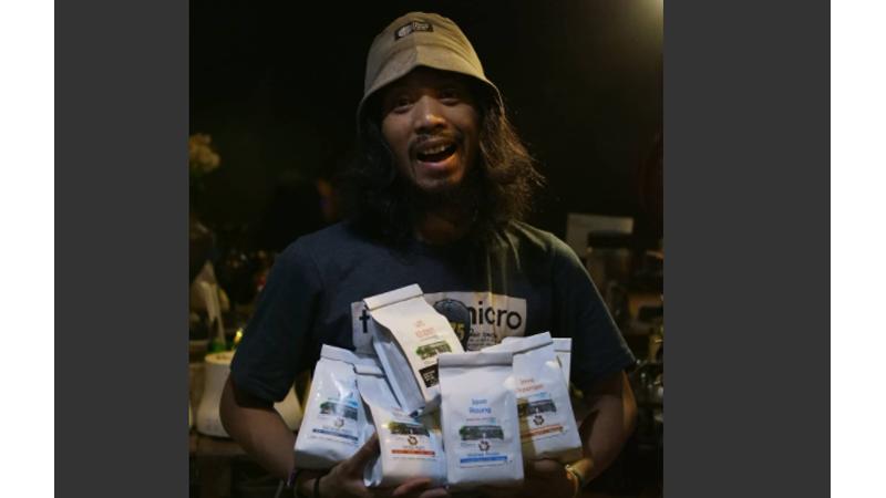 Riri, owner Riphy Coffee Roastery (foto: Dok. Riri)