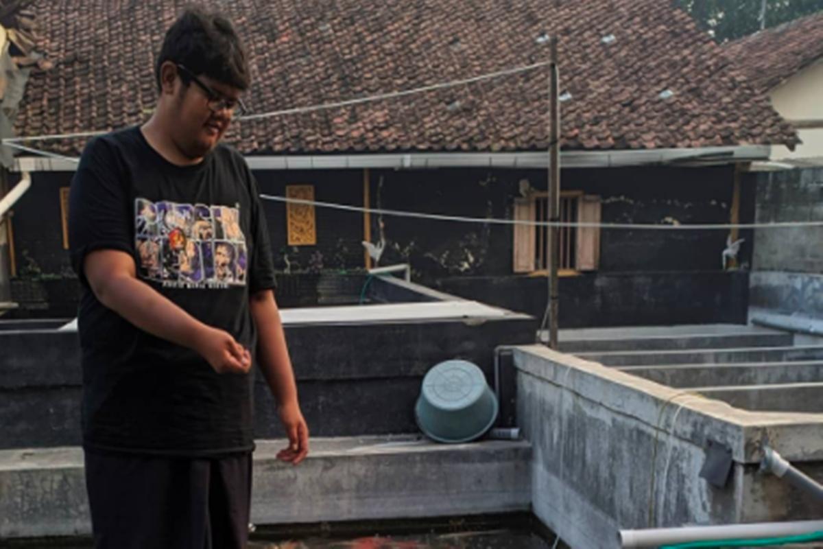 Dimas Setya Eka Wijayanto (foto: SC IG @koilogi99farm)
