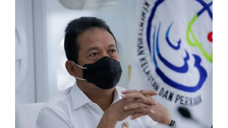 Menteri Kelautan dan Perikanan Sakti Wahyu Trenggono tegas soal keputusannya untuk melarang ekspor benur lobster (foto: Dok. KKP)