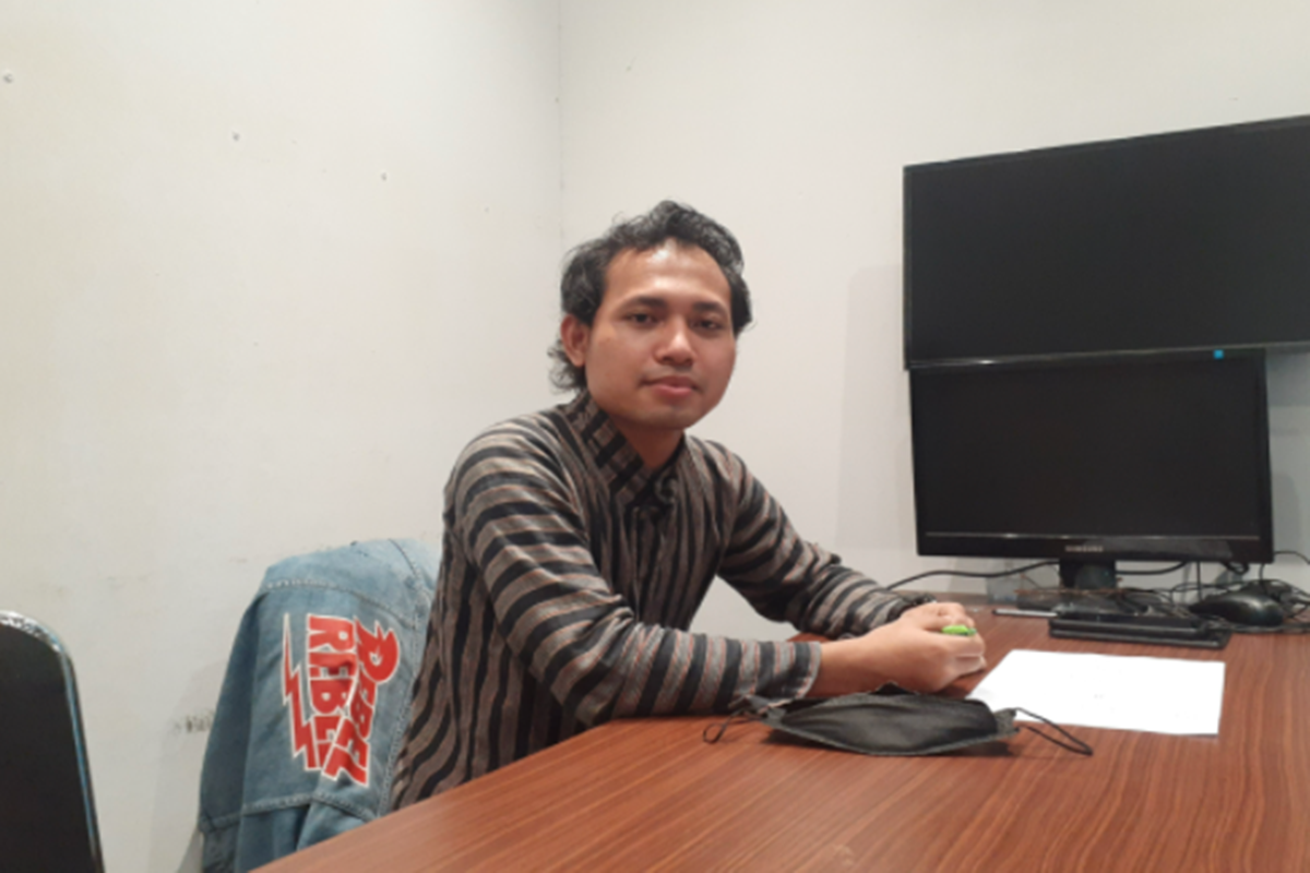 Owner PT Manda Tama Oksa, Oki Saputra (foto: Langgeng/GenPI)