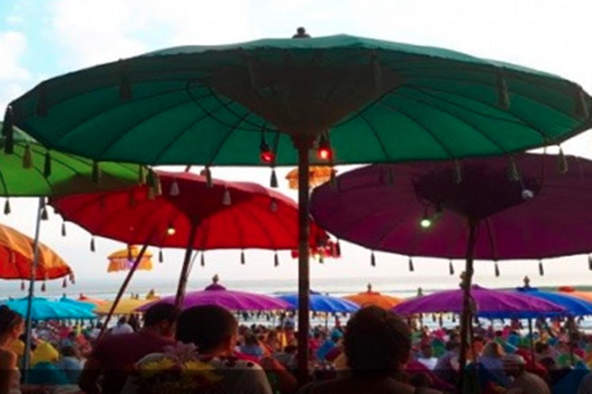 Turis asing di Bali sebelum Pandemi (JPNN)