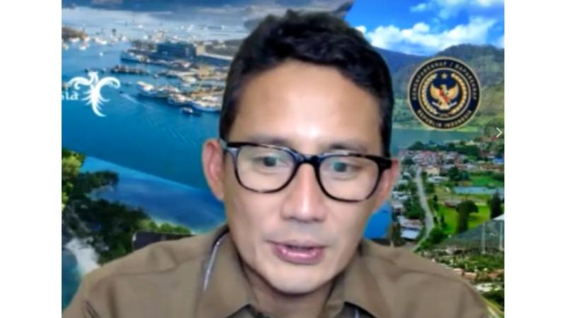 Menteri Sandiaga Uno Beberkan Program Kerja 1 Tahun