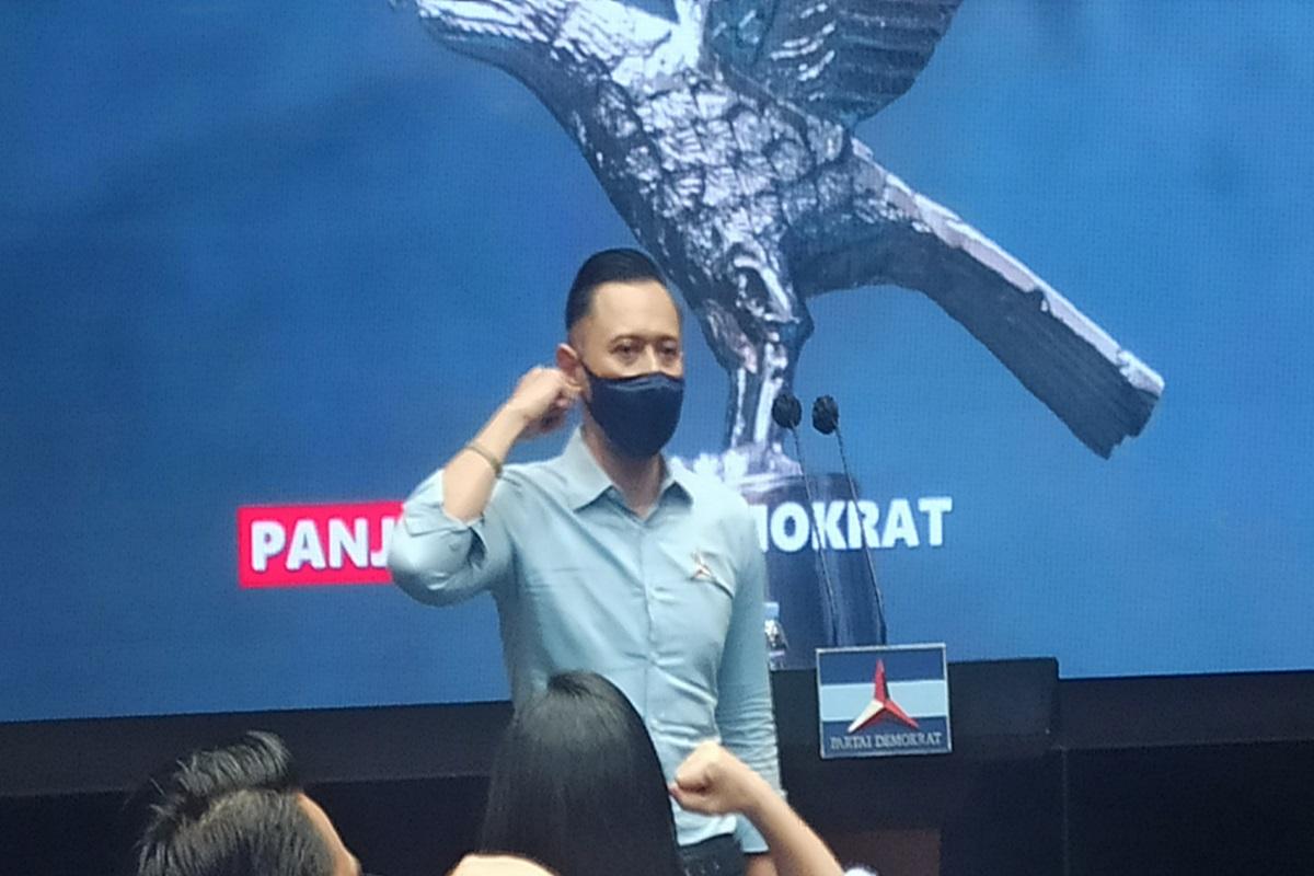 AHY Buka Suara, Kubu Moeldoko Disebut Kehilangan Akal Sehat! ( foto: ANDI/GenPI.co)