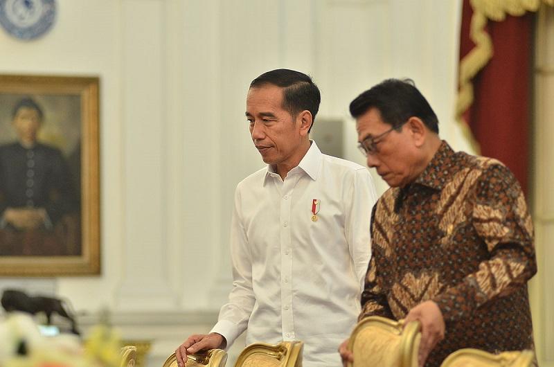 Moeldoko Masih Dimanjakan Jokowi, AHY Mohon Jangan Emosi