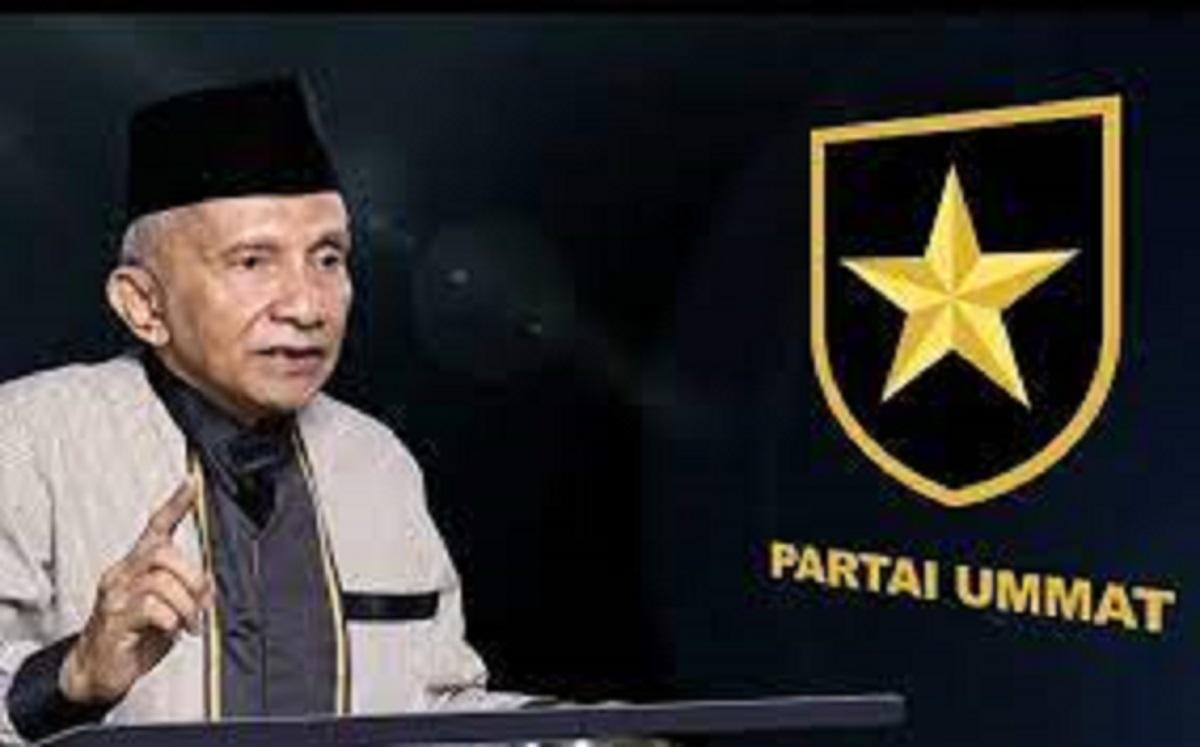 Jika Partai Ummat Maju Pilpres 2024, Maka Ini yang Terjadi...(foto: SC YouTube Amien Rais official)