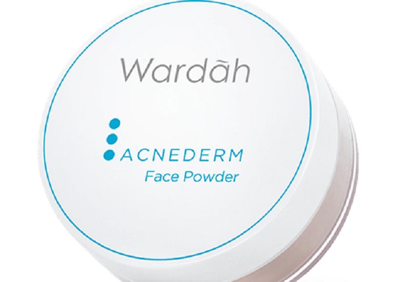 Bedak Wardah Acne Derm Face Powder Cocok untuk Kulit Berjerawat