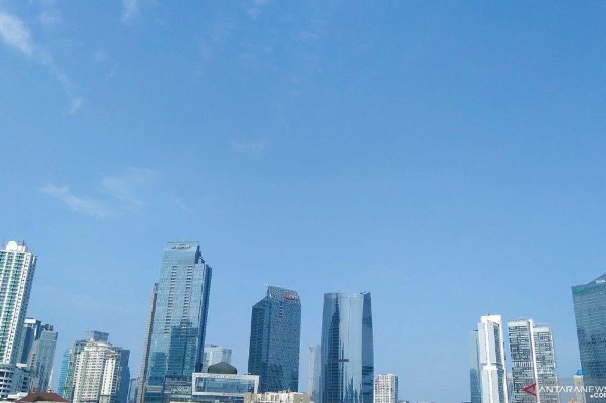 Cuaca Jakarta Diprakirakan Cerah Berawan Hari Ini (Foto: ANTARA)