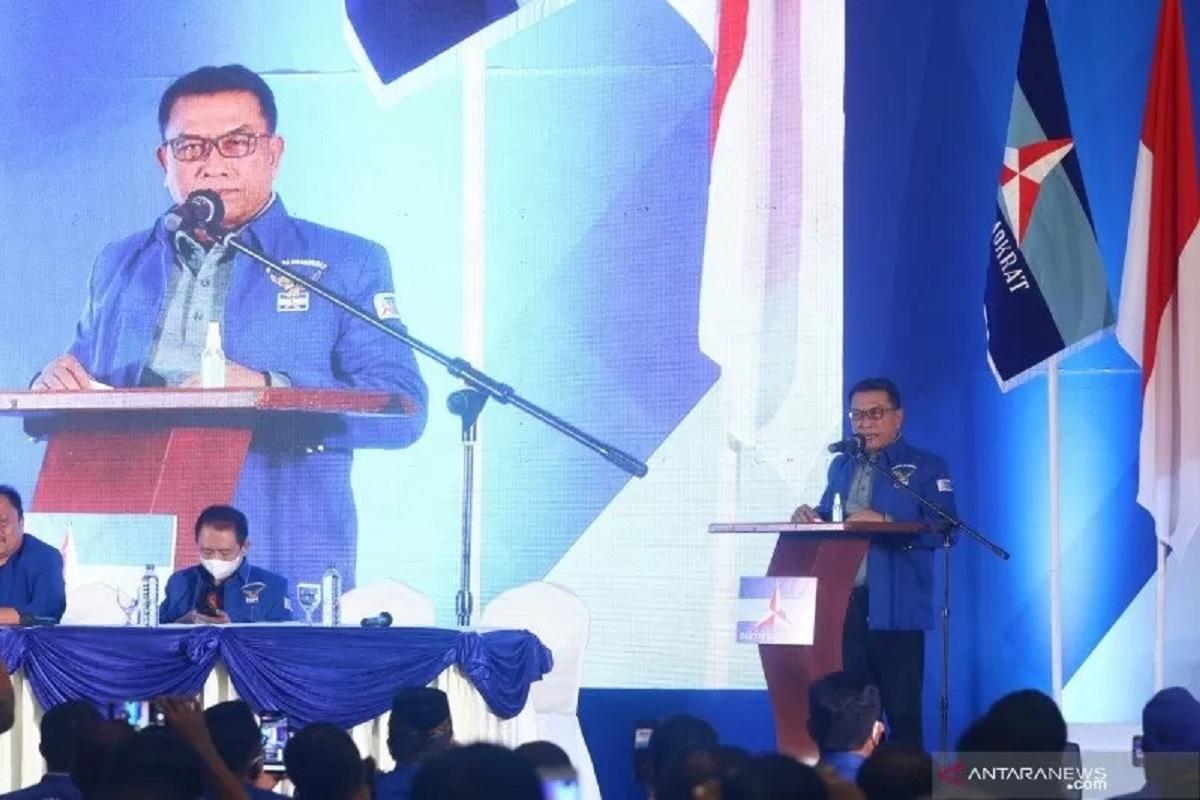 Kubu Moeldoko Tantang SBY Debat, Loyalis AHY Beri Jawaban Menohok ( Foto: ANTARA.com)