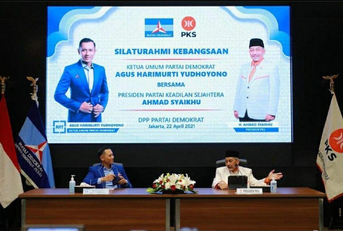 Dua Partai Oposisi Bertemu, Pengamat: Menyiapkan Pilpres 2024 (Foto: Instagra./agusyudhoyono)