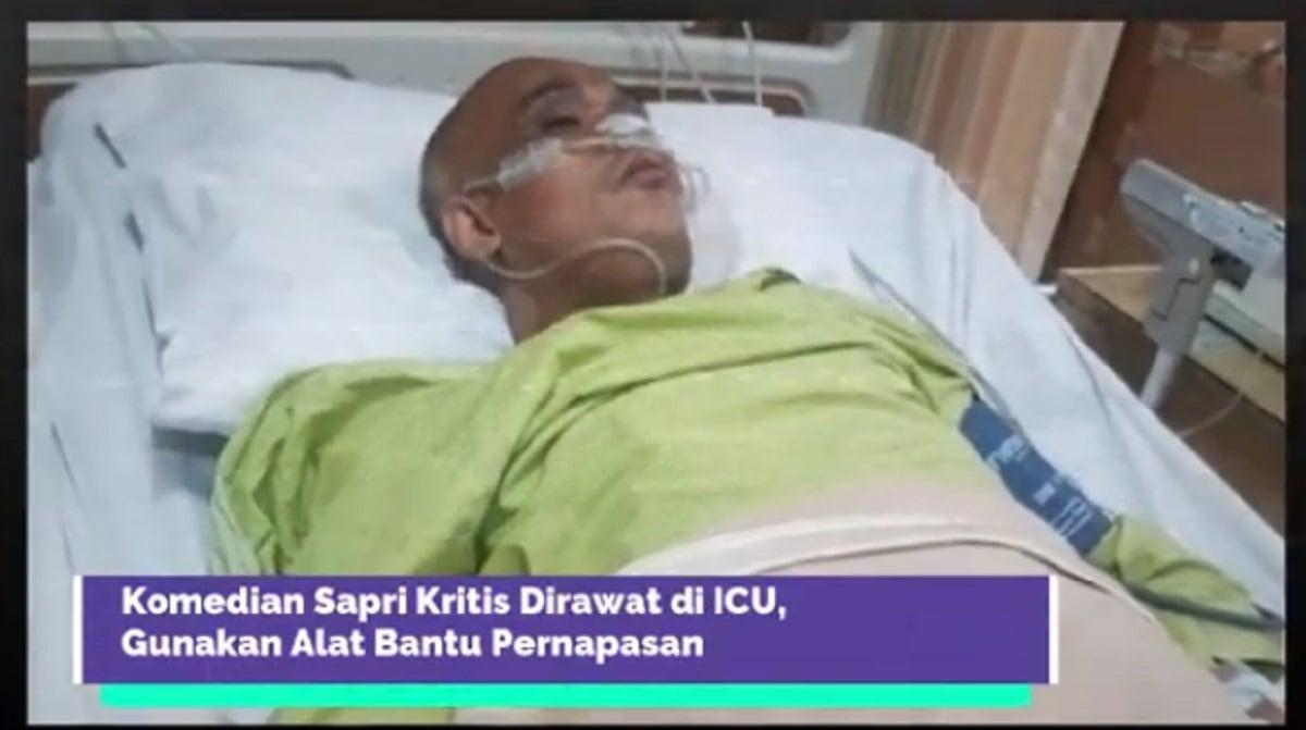 Mohon Doanya, Komedian ini Dilarikan ke ICU, Kondisinya Melemah (Foto: Screenshoot YouTube Jalan Cerita)