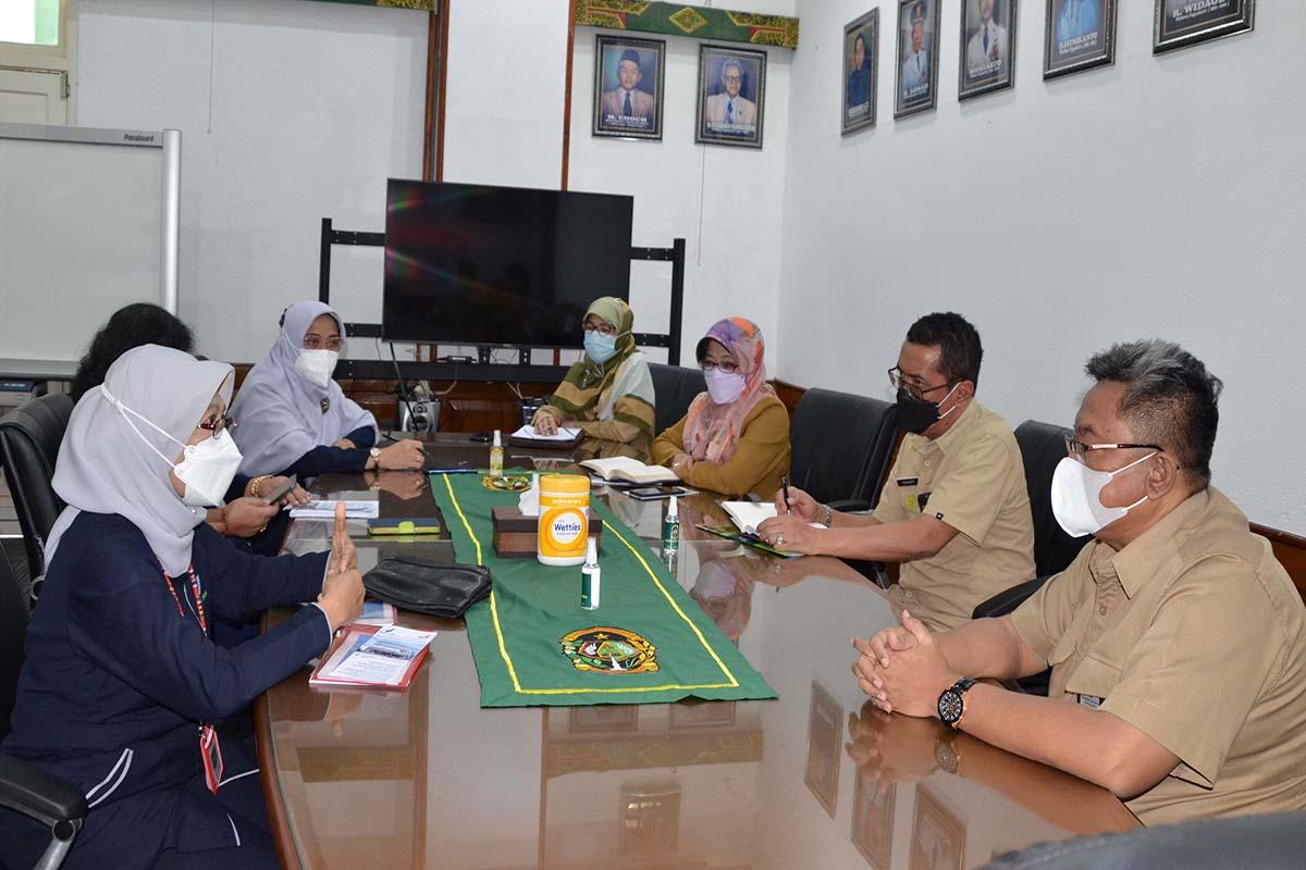 BBPOM Yogyakarta saat melakukan kunjungan ke kantor Pemkot Yogyakarta.(FOTO: Humas Pemkot Yogyakarta)