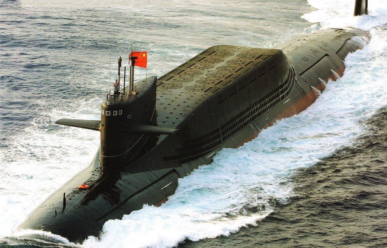 Kapal selam type 094A milik China. Foto: military