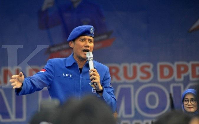 Agus Harimurti Yudhoyono (AHY). (ANTARA News/Desca Lidya Natalia)