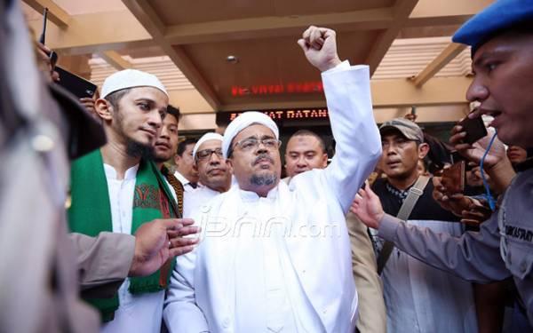 Eks Imam Besar FPI Habib Rizieq Shihab. Foto/dok: Ricardo/JPNN.com
