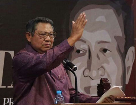 Susilo Bambang Yudhoyono(SBY). Foto: Instagram @sb.yudhoyono