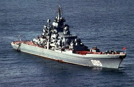 Kapal Perang Admiral Nakhimov. Foto: wikipedia
