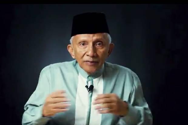 Amien Rais Bahas Sidang Orang Berpengaruh, Rizieq Disebut...