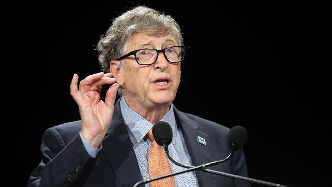 Pendiri Microsoft Bill Gates. (Foto: AFP/LUDOVIC MARIN)