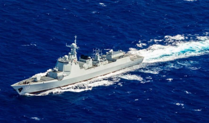 Kapal Perusak China Latihan Militer Brutal, Ada Radar Antisiluman
