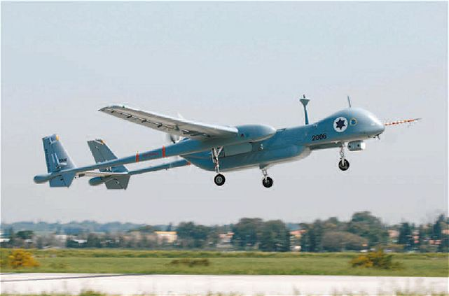 Drone Israe mengangkasa di langit Myanmar. Foto: armyrecognition