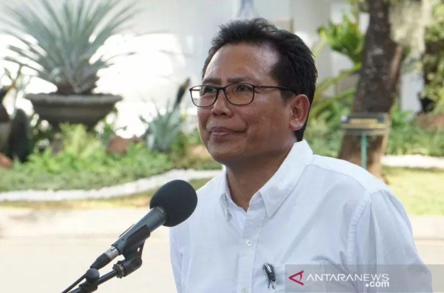 Juru Bicara Presiden, Fadjroel Rachman. ANTARA FOTO/Bayu Prasetyo.