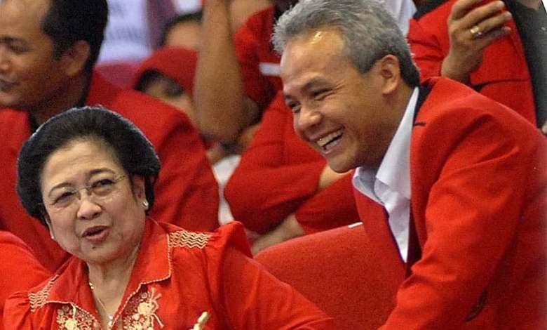 Megawati Soekarnoputri (kiri) dan Ganjar Pranowo. Foto: Instagram @ganjarpranowo