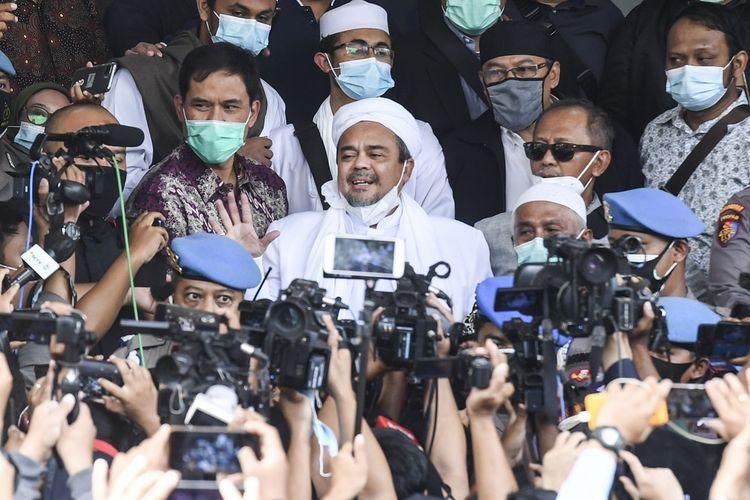 FPI Dikuliti Habis, Habib Rizieq Disebut Cuma Boneka