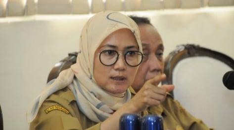 Bupati Lebak Iti Octavia Jayabaya. ANTARA/Lukman Hakim