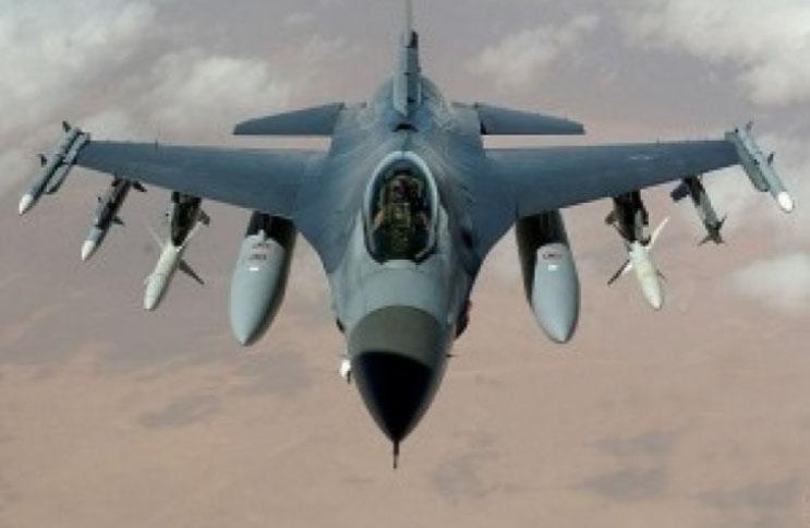 Jet tempur F-16 Fighting Falcon Israel. (FOTO wikipedia.org)