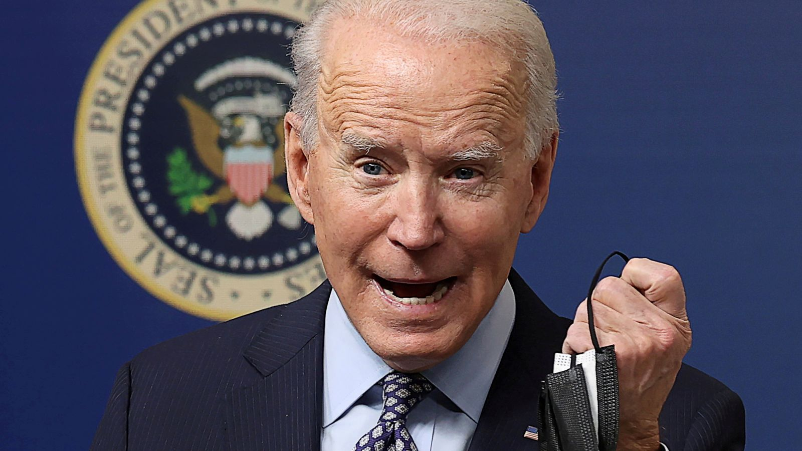 Joe Biden. Foto: skynews