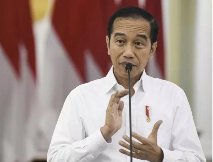 Presiden Joko Widodo (Jokowi). ANTARA FOTO/Hafidz Mubarak A/ama.